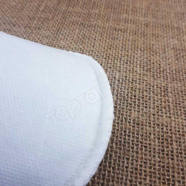 Tek Kullanımlık Tela Terlik - Overloklu Kalın Taban Terlik (500 Çift)