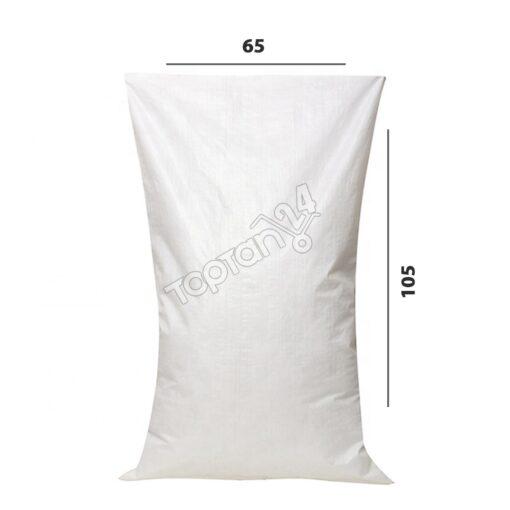65x105 cm beyaz çuval