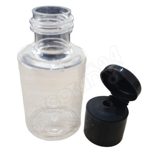 Boş Mini Şampuan Şişesi Flip Kapak Şişe